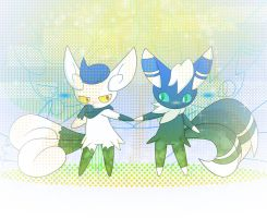 Meowstic: shy Lovers