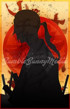 Samurai Champloo Silhouette Posters - Jin by Nortiker