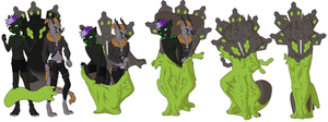 Lorkos and Vritrax to zygarde suit by Vytz
