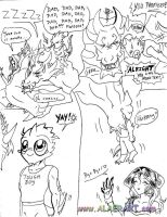 The Circle of Fright Comic P2 by alaer