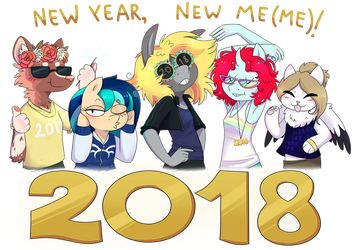 the fabulous 2018 dream team by WowzaDawg