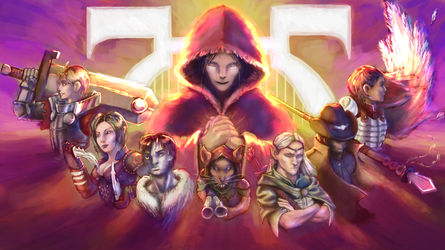 Adventurers of Thule by MadMuffin