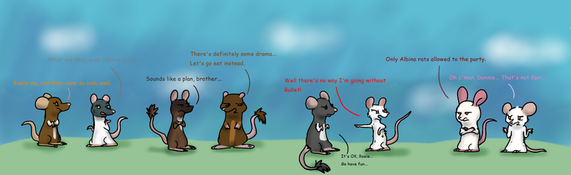 RAT-RPG ~Albino Rat Drama~ by GN-MS