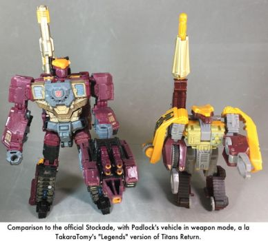 Titans Return Stockade robot mode comparison by dvandom