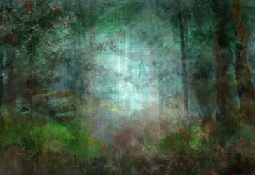 Stock: A Painted Forest by SilverSugar