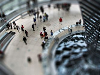 Berlin Bundestag - Tilt Shift by Thpx