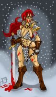 Red Sonja by sharksang
