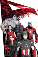 MCU VOL 06: THE AVENGERS by DuckLordEthan