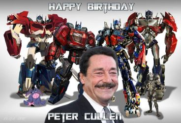 Happy Birthday Peter Cullen (Part1) by ElitaOneArts