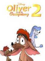 Oliver and Company 2 teaser poster# 3 by JustSomePainter11