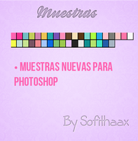 Muestras para photoshop by sofithaax by SofithaaxTutoriales