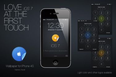 iOS7 At The First Touch by angeluson