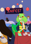 Mieko at Anifest by AbyLockhart