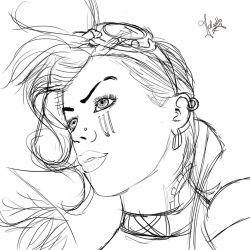 Vi sketch  by iSweetSophie