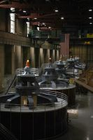 Hoover Dam Turbines by calger459