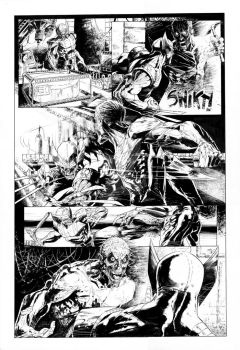 Wolverine page1 by MarcoMastrazzo