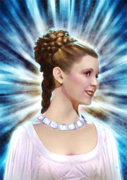 Princess Leia by Kid-Eternity