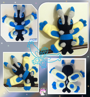 Shiny Mothim Plushie :Sold: