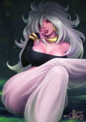 Majin Android 21 (NSFW Optional) by Arkuny