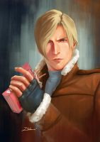 Leon Scott Kennedy by limzhilin