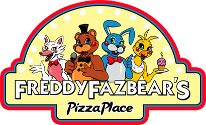 FNAF2 Freddy Fazbear Logo shirt design by kaizerin