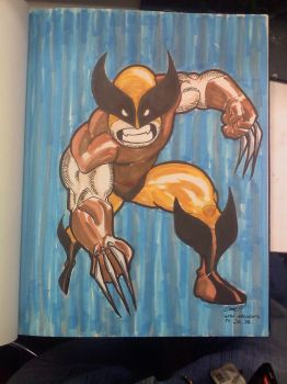 Wolvie Homage by Zombie-Kung-Fu