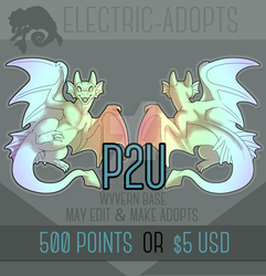 The Wyvern - P2U Base by Electric-Adopts