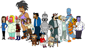The Walking Futurama by thestalkinghead