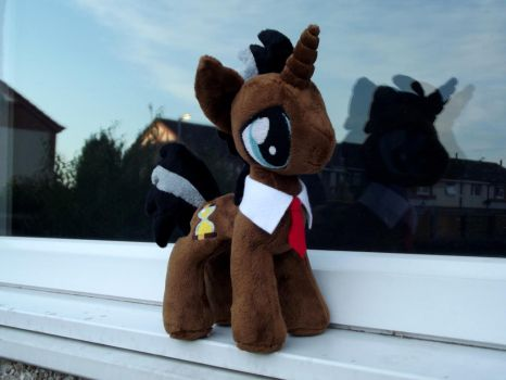 mini Dr. Whooves plush for sale by CatyCrippledCat
