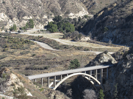 Big Tujunga Bridge by iconocrash