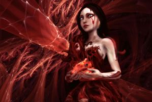 Tears of the Heart by AnnaPostal666