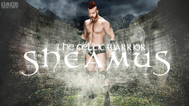 Sheamus Wallpaper by DaceDestiny