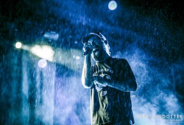 In Flames in rain by stephansdotter