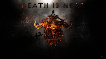 Diablo III Wallpaper - Death is near by deSess