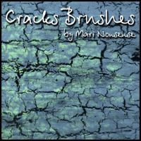 Cracks brushes by nosense-stock