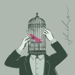 Janhueary 25 - Bird in a Cage by JohnKohlepp