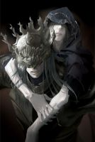 Lothric and Lorian by G-Tea