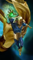 Dr Fate 2.0 by uncannyknack