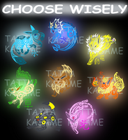 Choose wisely by Tatta-doodles