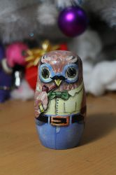 Dad Owl front by ItsMyUsername