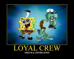 A captain is nothing without his loyal crew... by GameTagger457