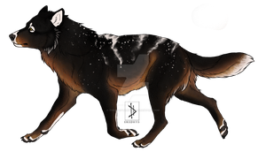 Canine/Wolf design auction [CLOSED] by TheAdoptArtist