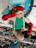 Cammy White Cosplay, Street Fighter IV. by AsakuraYumiChan