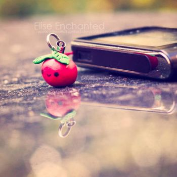 Phone charm by EliseEnchanted