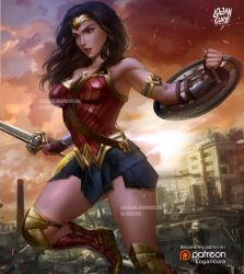 Wonder Woman by logancure