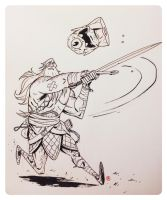 Head Lopper by darrenrawlings