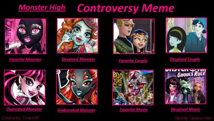 MH Controversy Meme by Hasana-chan