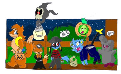 their first halloween by large-rarge