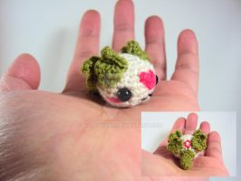 Chibi Dragon -Cream and Olive - For Sale on Etsy by altearithe