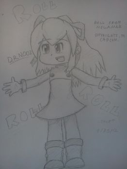Roll from Megaman by VioletLinked